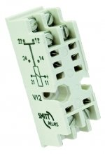 V12 socket - Screw terminal, wall mount, 4 kV insulation