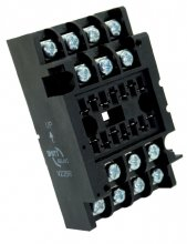 V22BR socket - Screw terminal, wall mount
