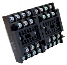 V92BR socket - Screw terminal, wall mount 8 pole