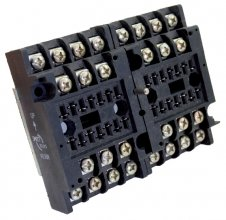 V93BR socket - Screw terminal, rail mount 8 pole