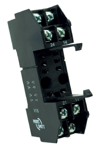 35mm (DIN) rail + wall/surface mounting