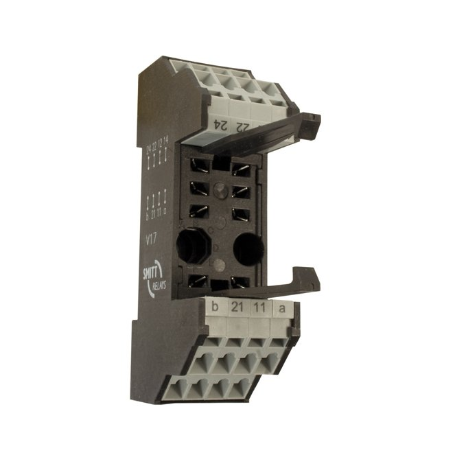 35mm (DIN) rail sockets